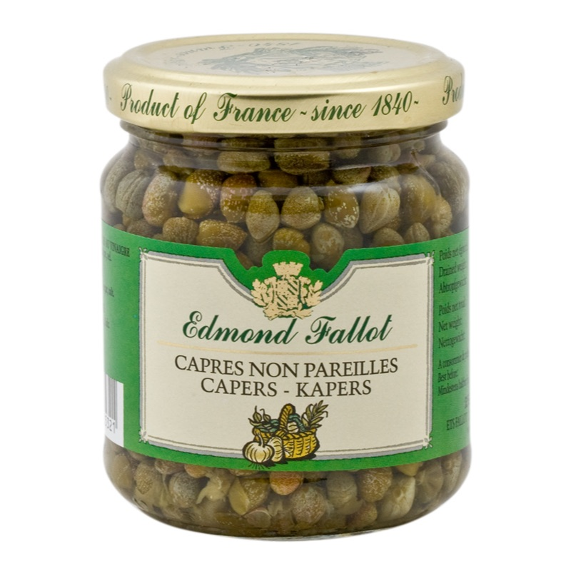 E.Fallot Pickled capers 190g