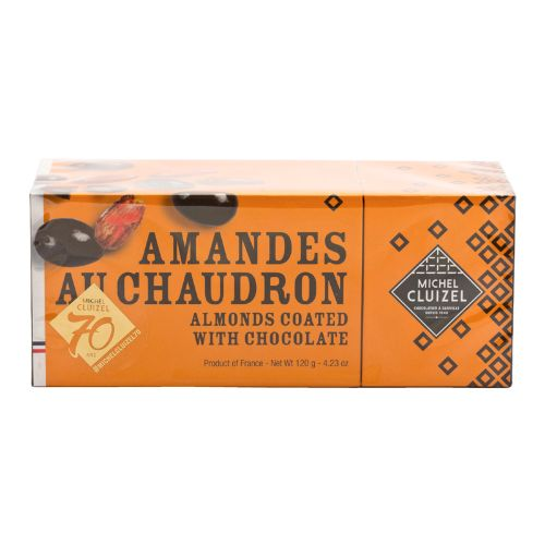 Michel Cluizel Amandes au Chaudron Almonds Coated with Chocolate 120g
