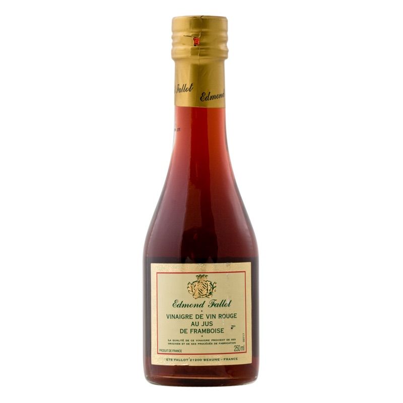E.Fallot Red Wine Vinegar with raspberry 250ml