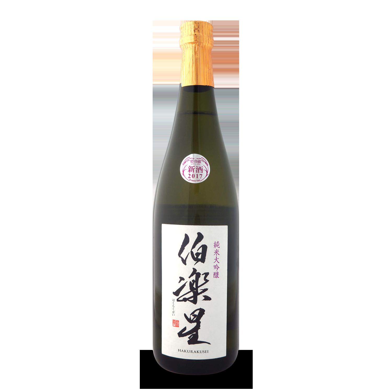 Hakurakusei Junmai Daiginjo Sake 0,72l