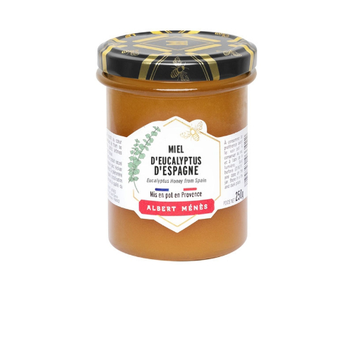 Albert Menes Honey Spanish Eucalyptus 250g