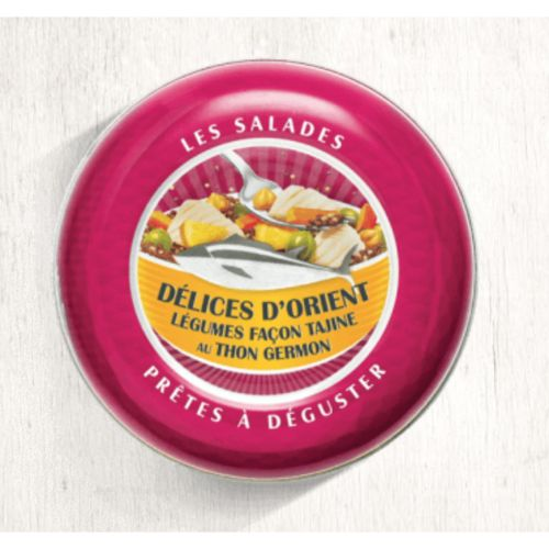 Belle Iloise Salad Tuna Germon Tagine Lemon 165g