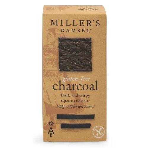 Miller's Gluten Free Damsel Charcoal Wafers 100g