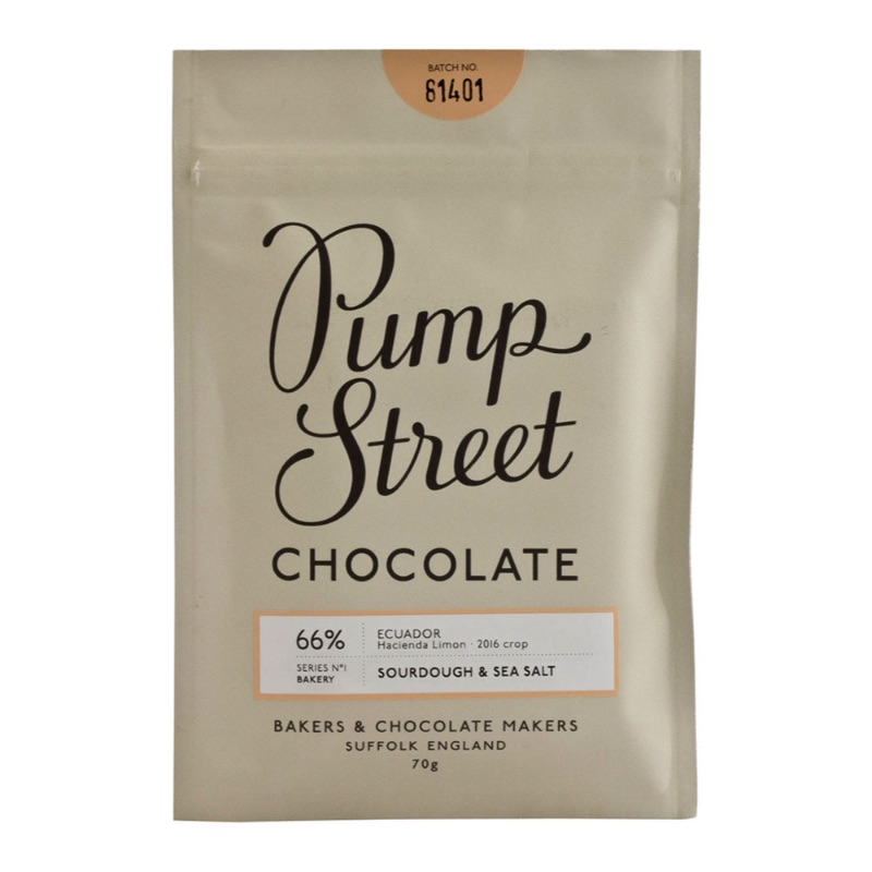 Pump Street Sourdough & Sea Salt 66% 70g