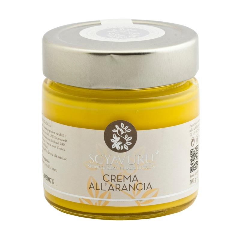 Scyavuru Crema all'Arancia 200g