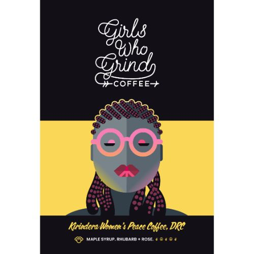 Girls Who Grind Kirindera Women's Peace Coffee, Congo, WHOLEBEAN, 250g