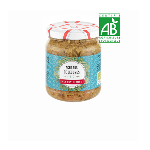 Menes Pickled Vegetables with spices Organic 200g