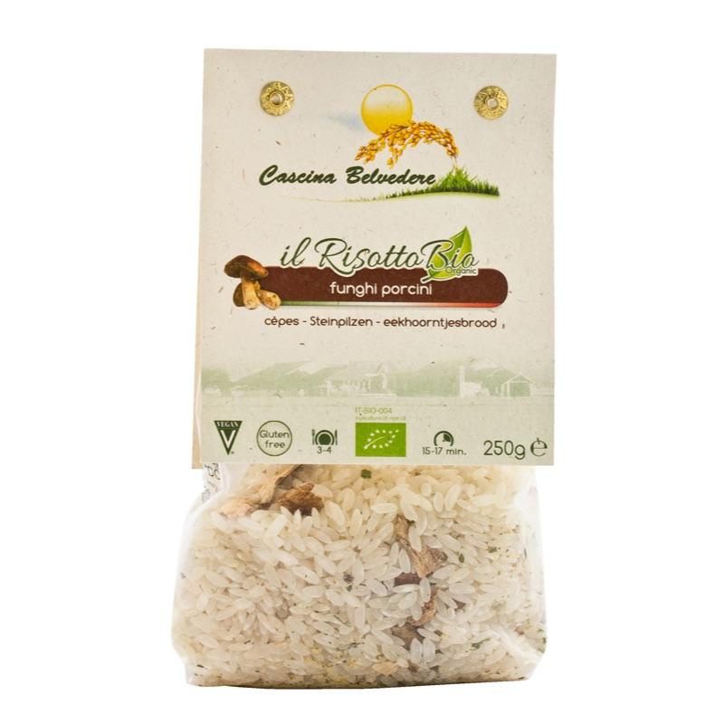 C.Belvedere Risotto Organic funghi porcini 250g