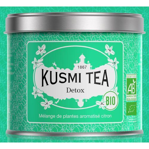 Kusmi Detox Organic Maté Green Loose Tea Tin 100g