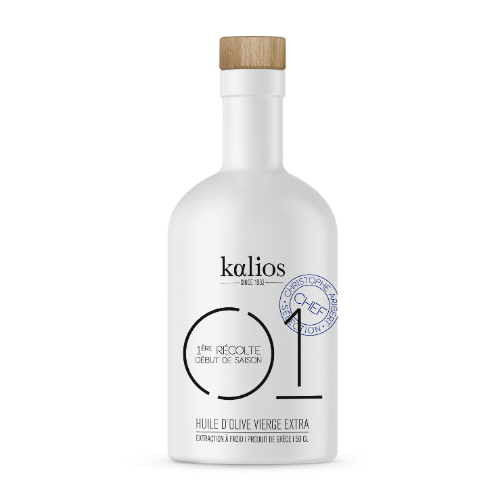 Kalios Extra virgin olive oil ceramic bottle 01 500ml