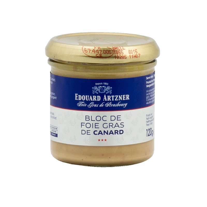 E.Artzner* bloc de foie gras canard 120g