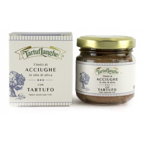Tartuflanghe Anchovies with Truffle 90g