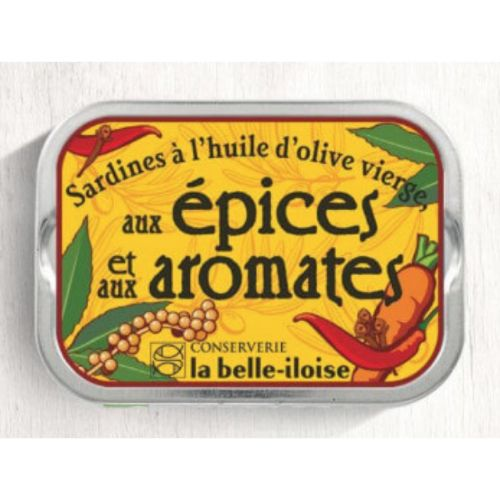 Belle Iloise Sardines in Olive Oil and Spices 115g