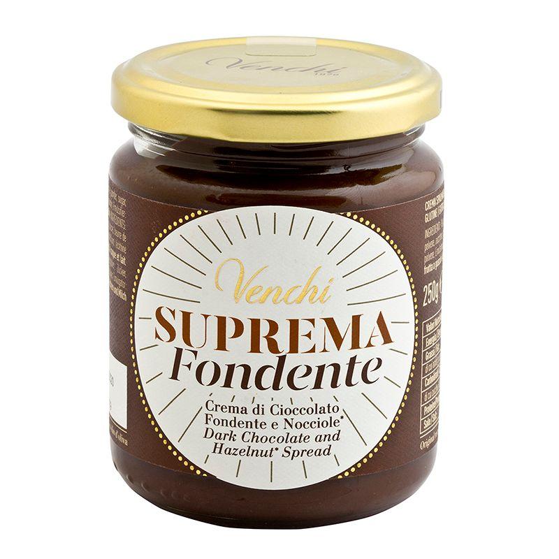 Venchi Spread Suprema Dark Chocolate and hazelnut 250g