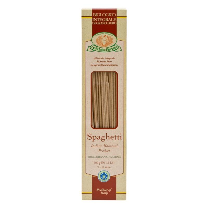 Rustichella Spaghetti integrale Organic 500g