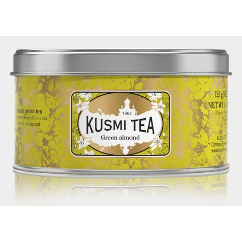 Kusmi Green Almond Organic Loose Tea Tin 125g