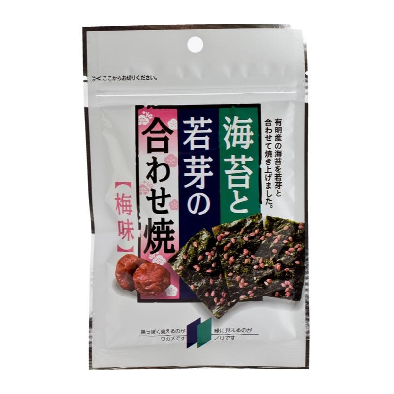 Wakame & Nori Chips with Ume Plum taste 6g