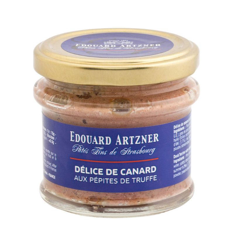 E.Artzner* Délice de Canard aux pépites de truffe 100g