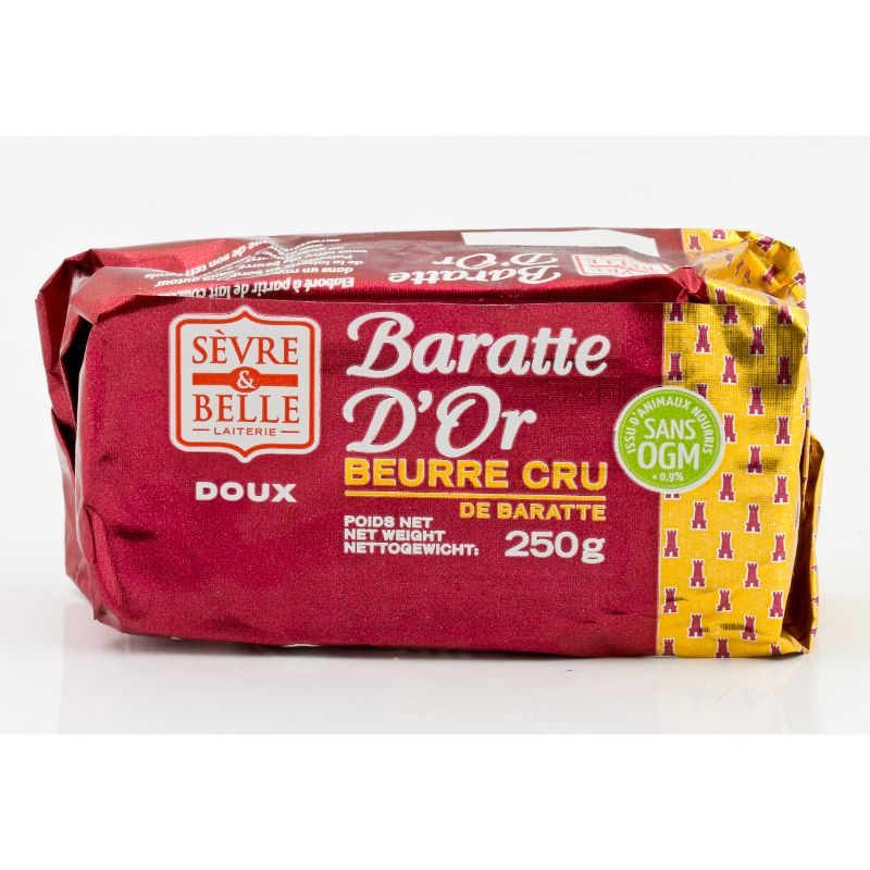 Sevre & Belle* Baratte Cremier Doux 250g