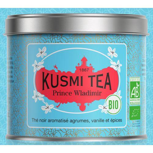 Kusmi Prince Vladimir Organic Loose Black Tea Tin 100g