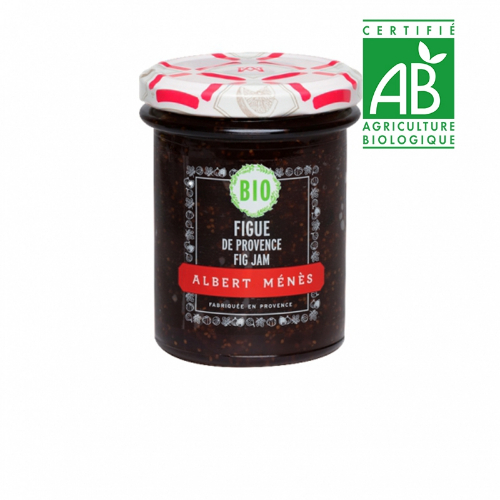 Menes Fig de Provence Jam Organic 230g