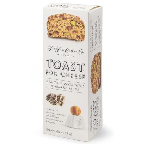 Fine Cheese Toast Apricots, Pistachio & Sesame Seeds 100g