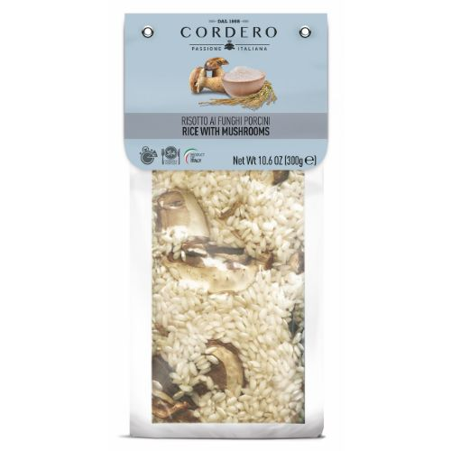 Cordero Risotto with Porcini mushrooms 300g