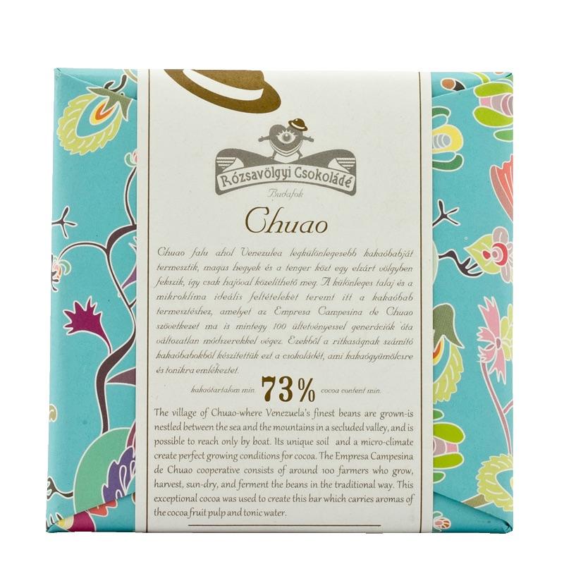 Rózsavölgyi 73% Chuao 70g