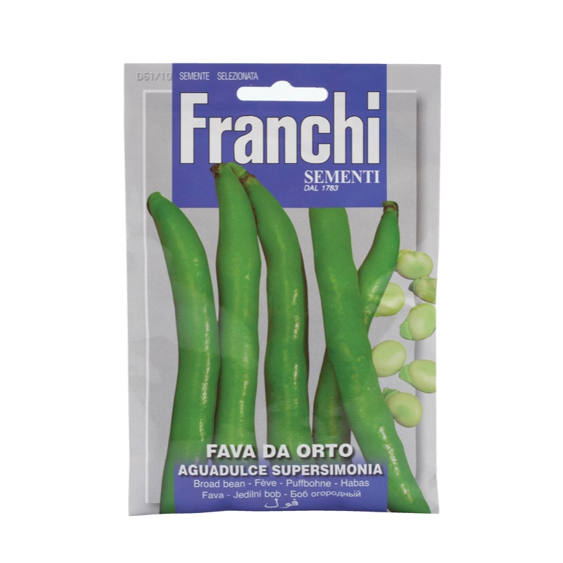 Franchi Fava da orto aguadulce supersim.