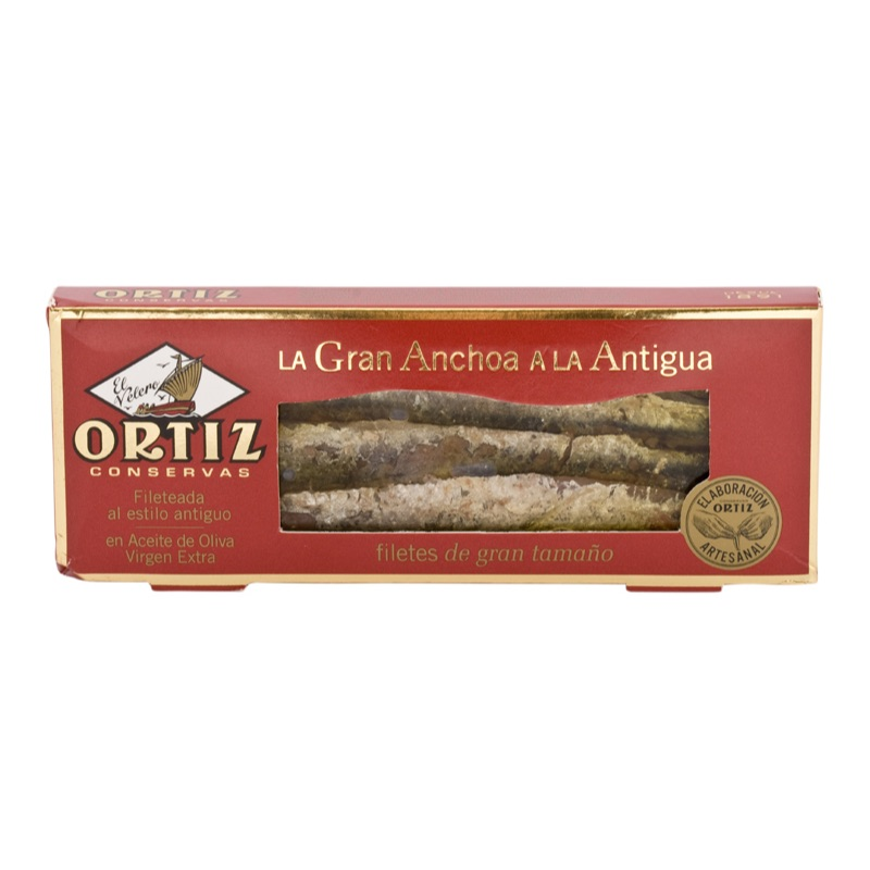 Ortiz* Great Anchovies in extra virgin olive oil 75g