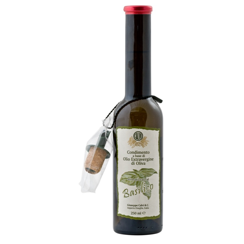 Calvi Olive Oil with Basil 250ml