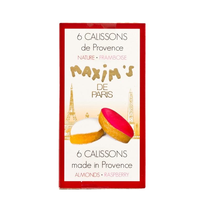Maxim's 6 Calissons de Provence Almond Framboise 37g