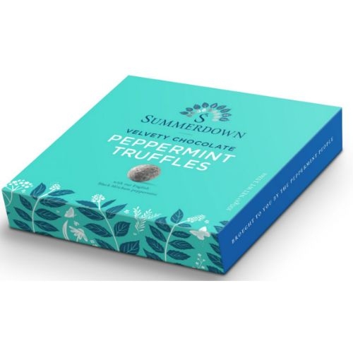 Summerdown Mint Chocolate Truffles 100g