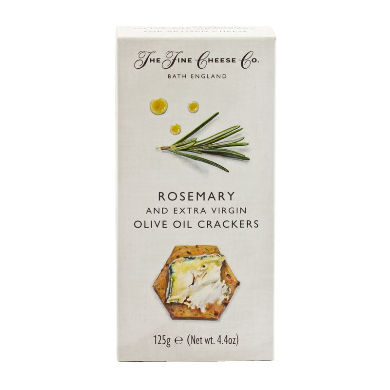 Fine Cheese Rosemary Crackers 125g