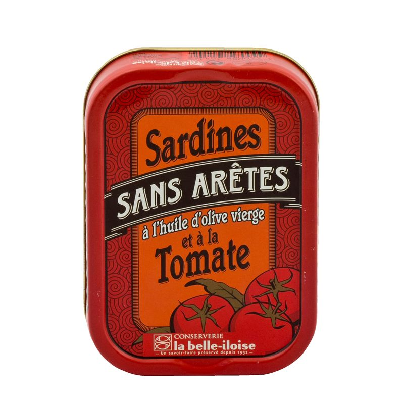 Belle Iloise Sardines Tomato Without Bones in Olive oil 115g