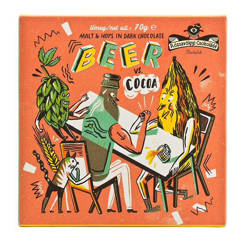 Rózsavölgyi Beer vs Cocoa 70g