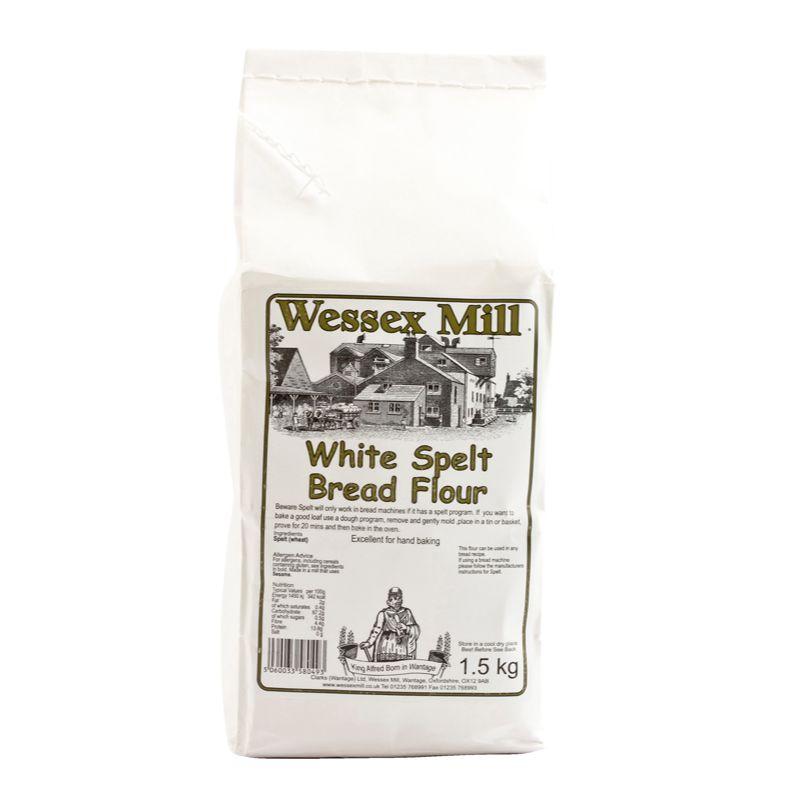 WessexM White Spelt Bread flour 1.5kg