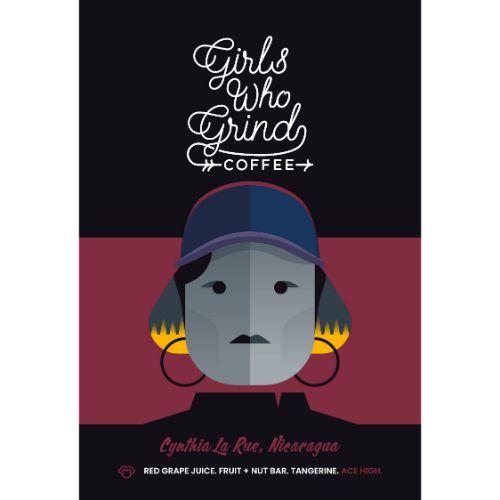 Girls Who Grind Coffee Cynthia La Rue WHOLEBEAN 250g