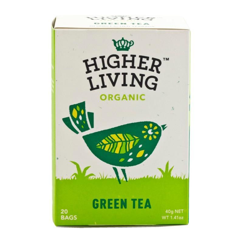 Higher Living Organic Green Tea 40g