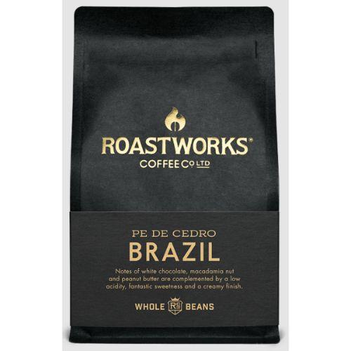 Roastworks Coffee Brazil Whole Bean 200g