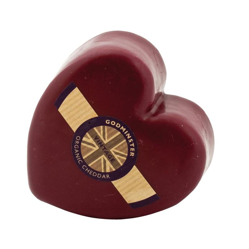 Godminster* Cheddar Heart Organic 200g