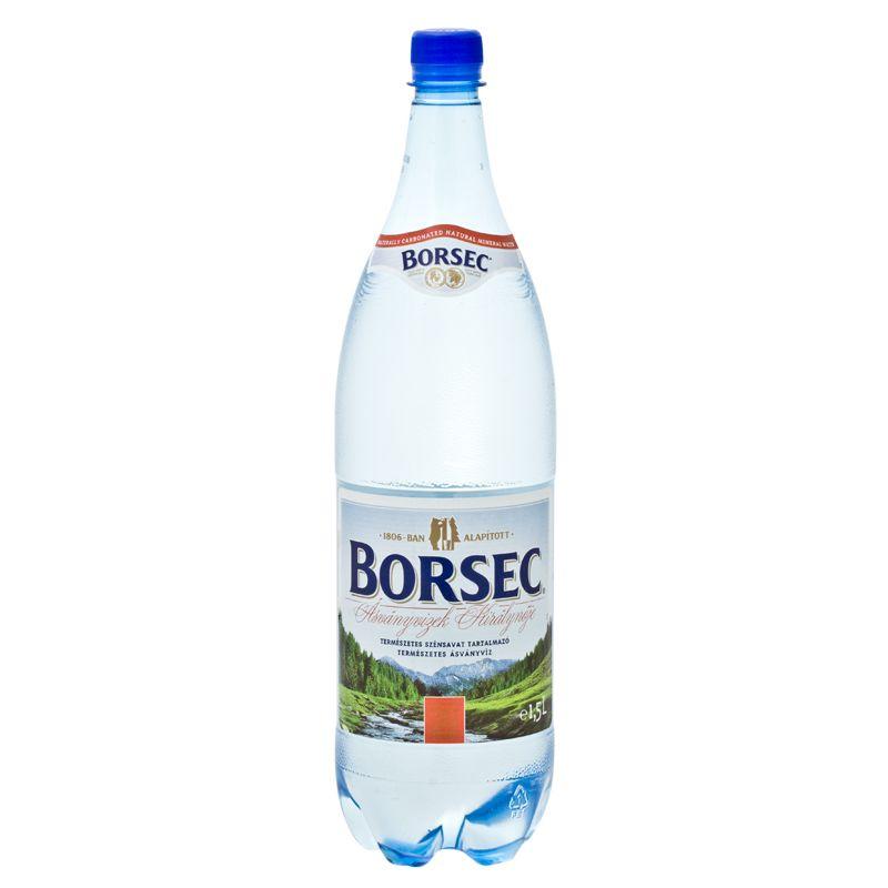 Borsec mineral water, sparkling 1,5l