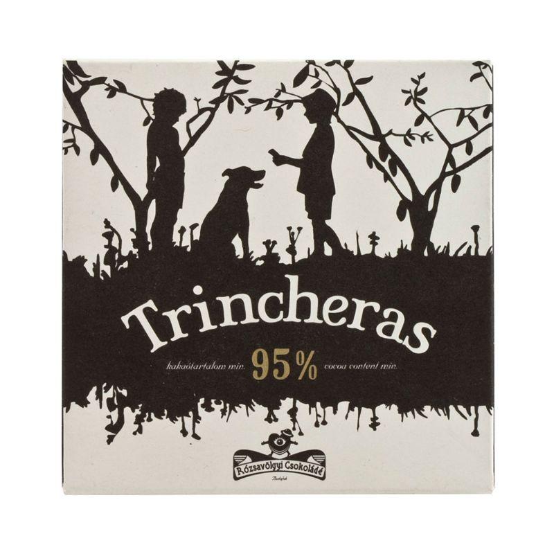 Rózsavölgyi 95% chocolate bar Trincheras 25g