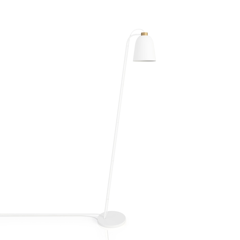 SUMMERA Floor Matt White - Gold + White Cord (Incl. Matt White Base)
