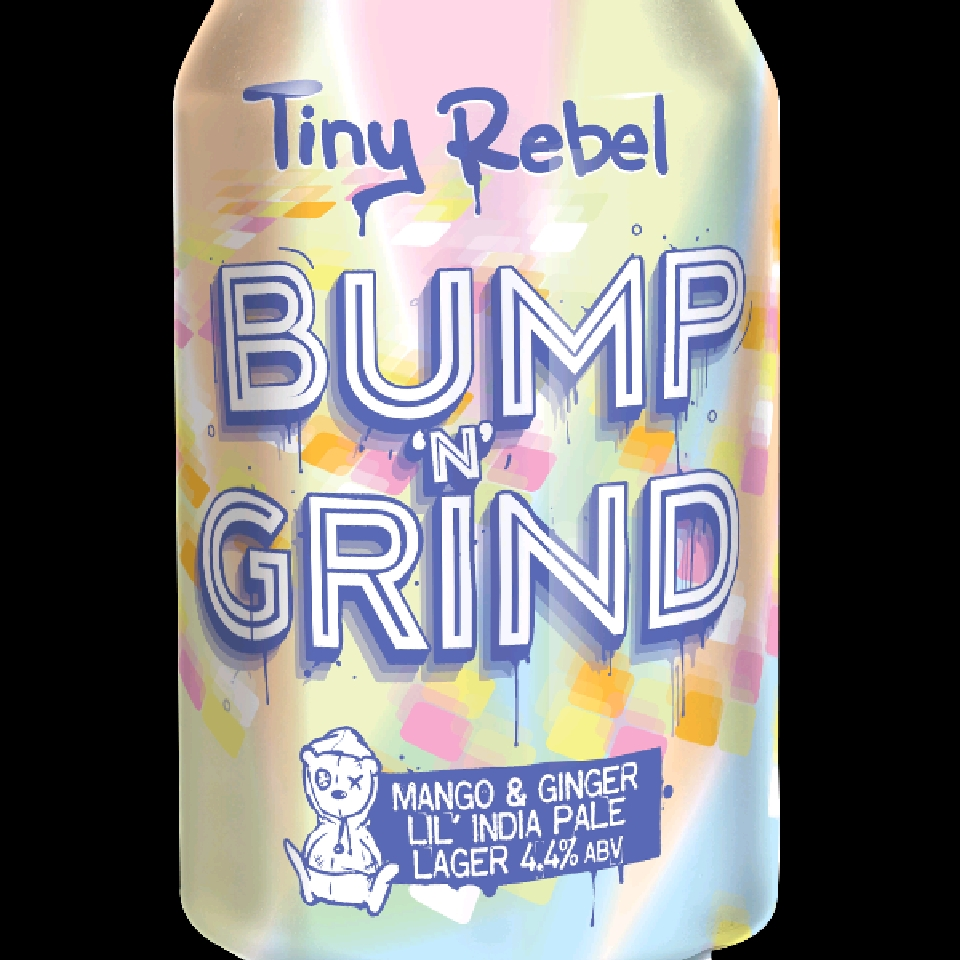 Tiny Rebel Bump N Grind India Pale Lager