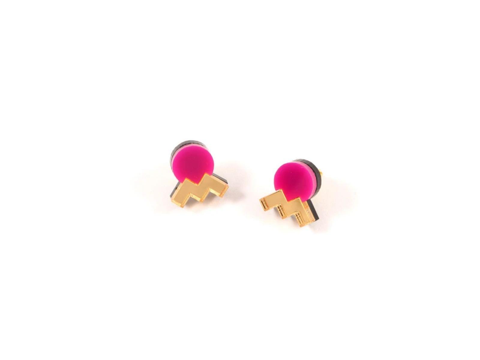 Mystic Forms - Geometric Statement Mini Earrings