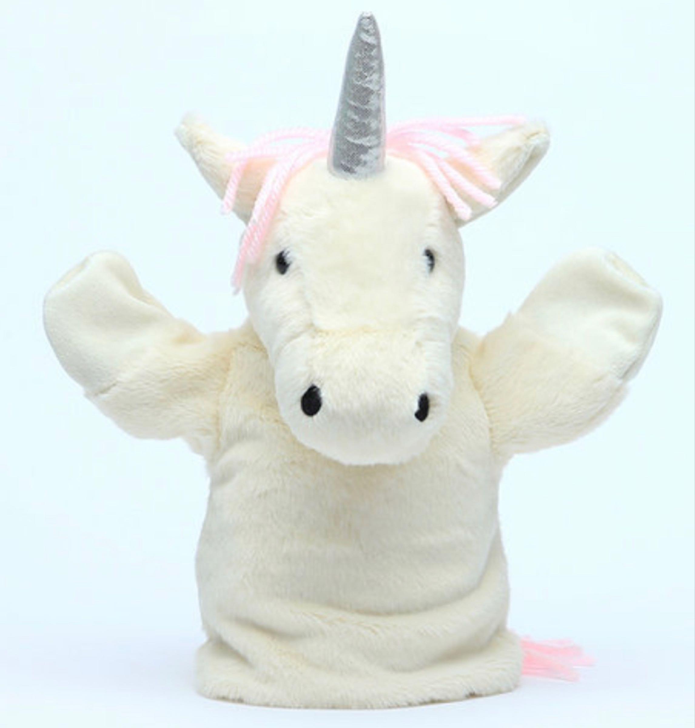 Jomanda Unicorn Hand Puppet 23cm