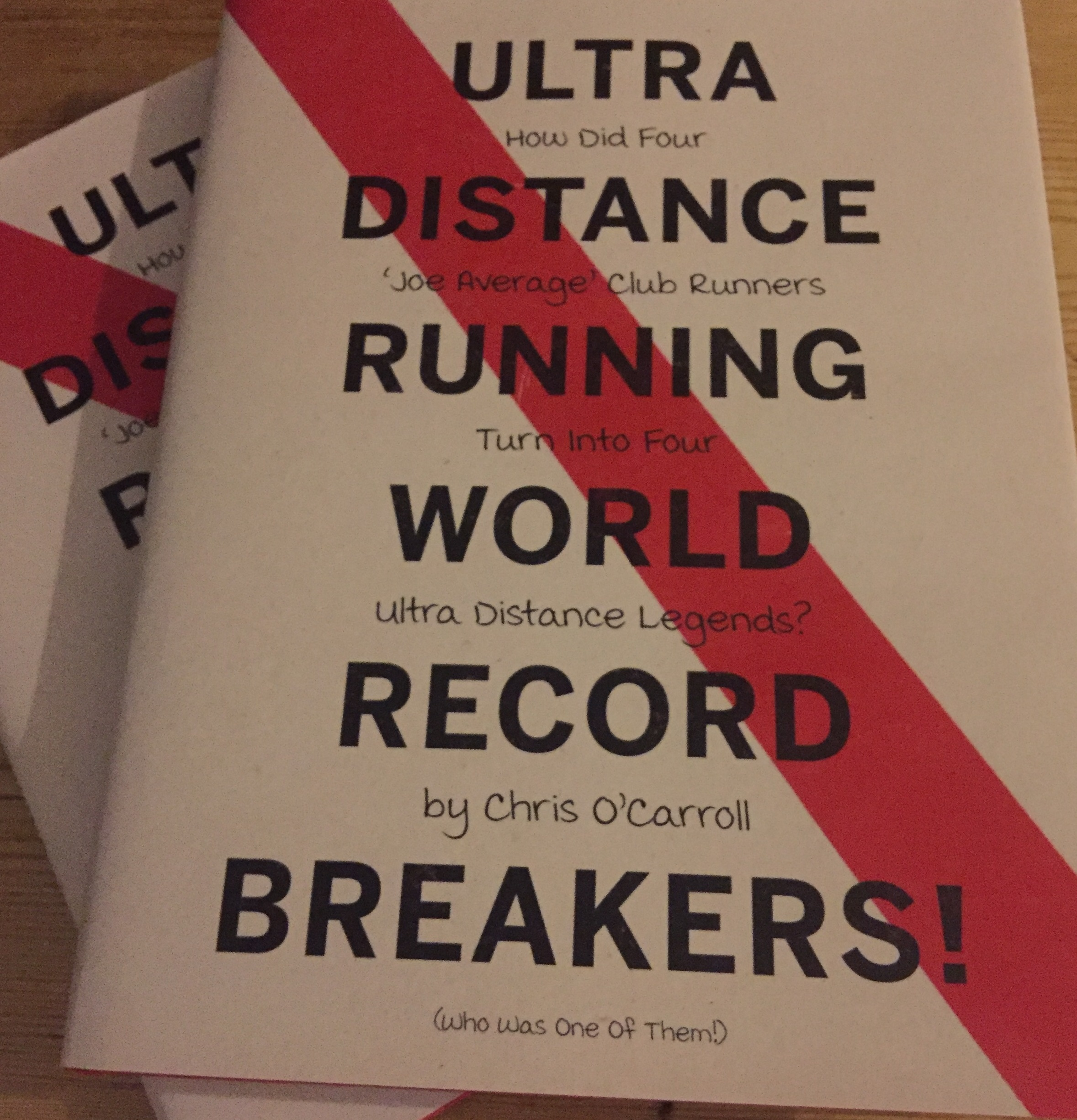Ultra Distance Running World Record Breakers