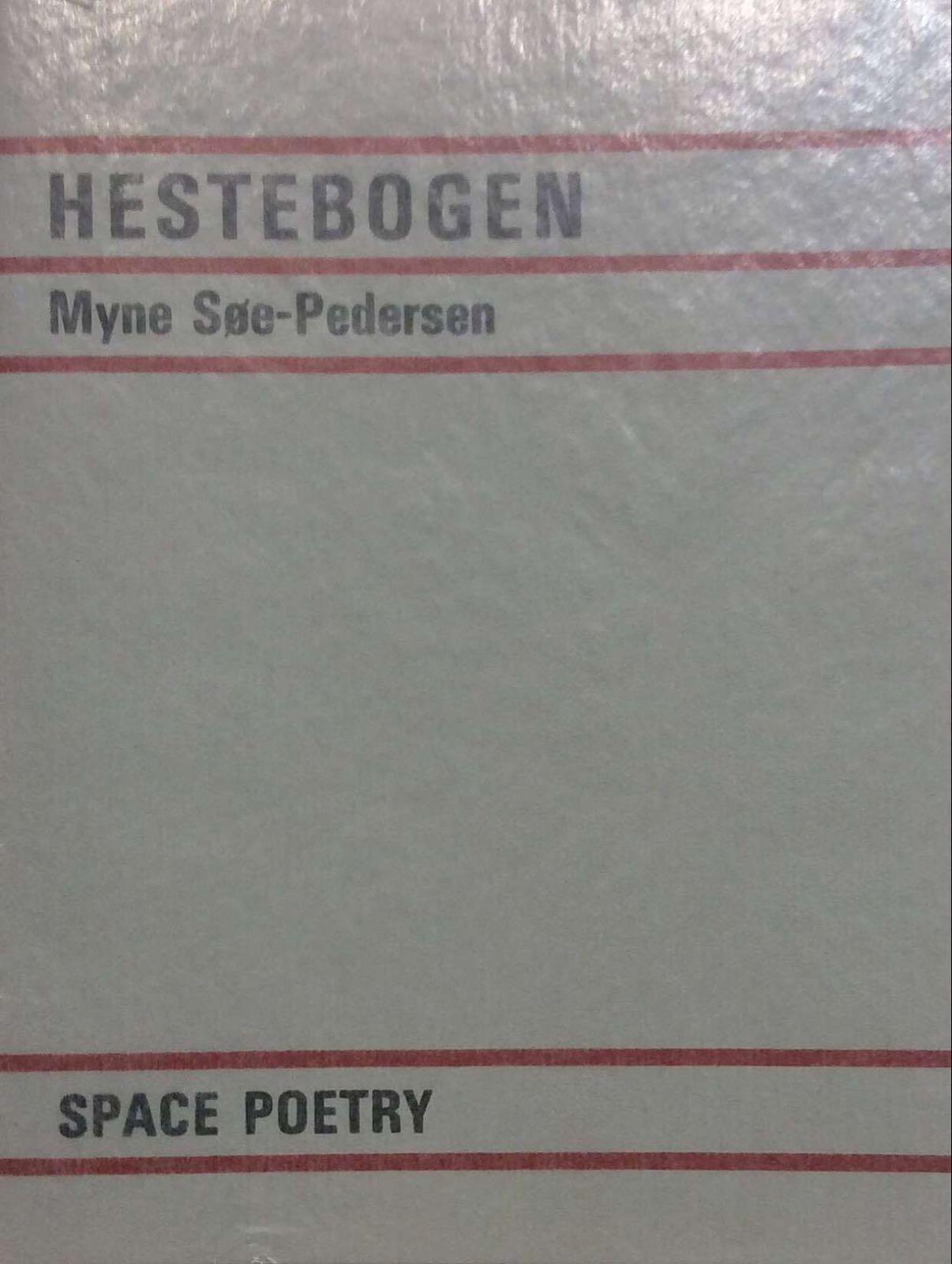 Søe-Pedersen, Myne. Hestebogen