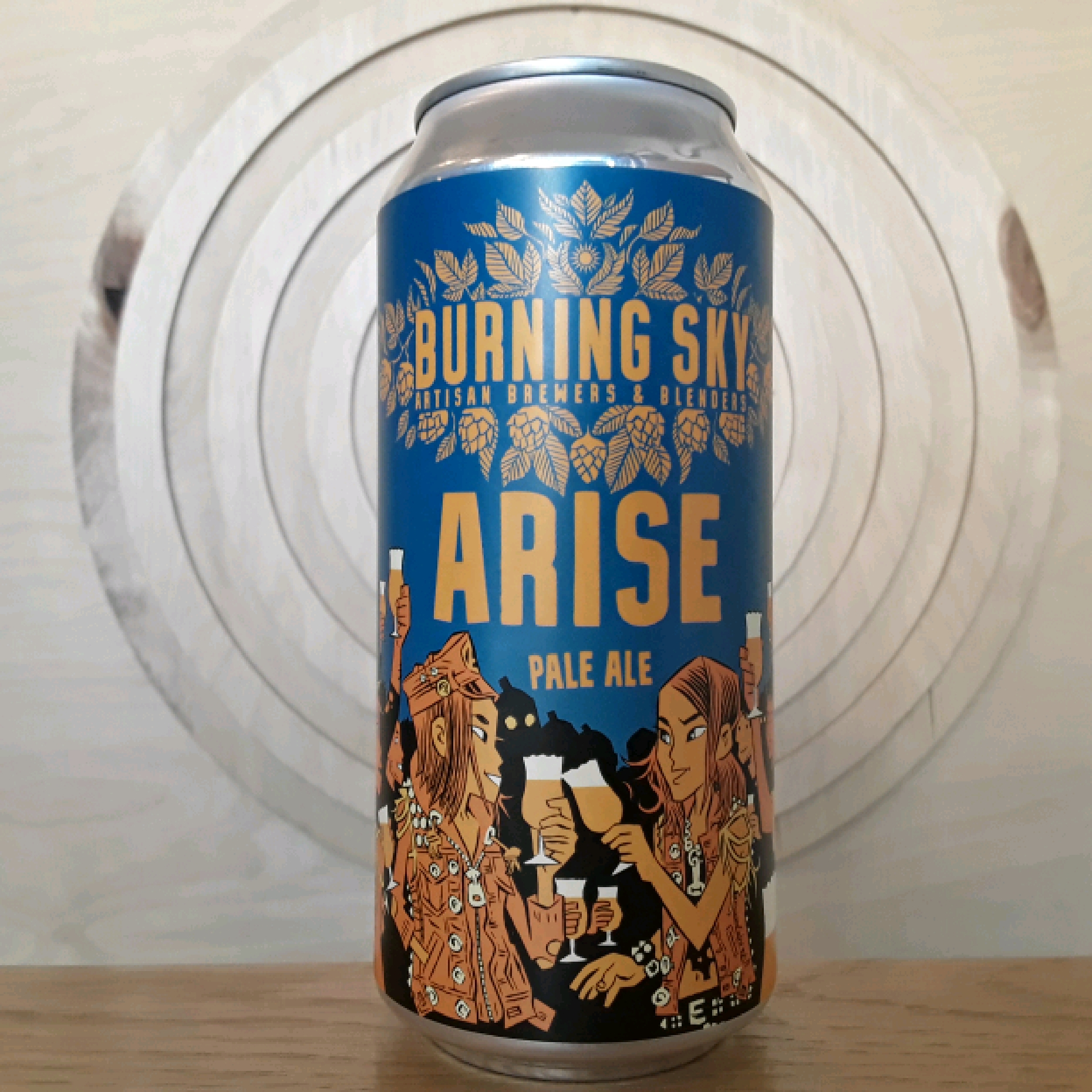 Burning Sky Arise Pale Ale